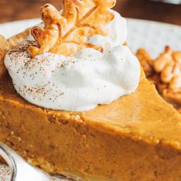 Pumpkin Custard Pie