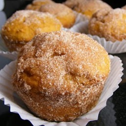 Pumpkin Doughnut Muffins