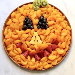 Pumpkin Fruit Platter
