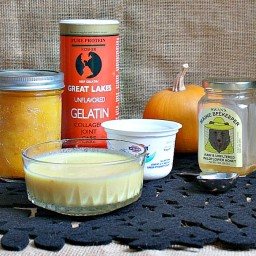 Pumpkin Gelatin Hair Mask Treatment