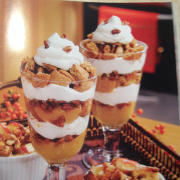 Pumpkin-Gingersnap Parfaits