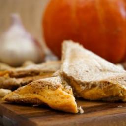 Pumpkin Grilled Cheese
