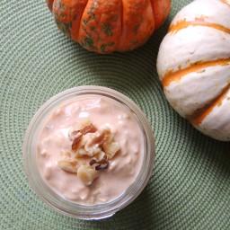 Pumpkin Maple Overnight Oats