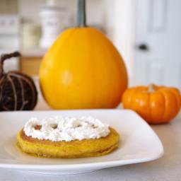 Pumpkin Oat Pancakes (gluten-free)