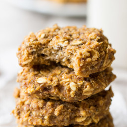Pumpkin Pie Quinoa Breakfast Cookies