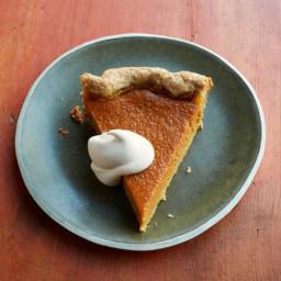 Pumpkin Pie with Spiced Crust