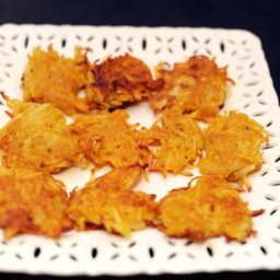 Pumpkin Potato Latkes