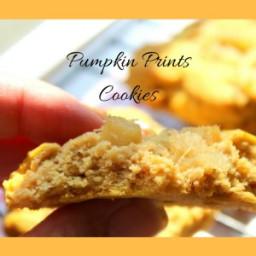 Pumpkin Print Cookies