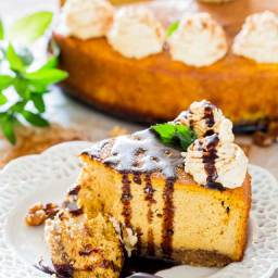 Pumpkin Ricotta Cheesecake