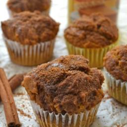 Pumpkin Snickerdoodle Muffins