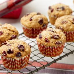 Pumpkin Spice-Cranberry Muffins