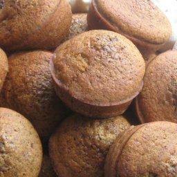 Pumpkin Spice Muffins, gluten-free