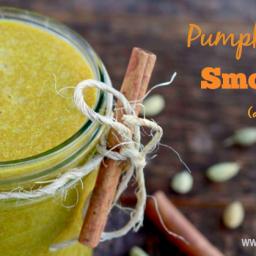 Pumpkin Spice Smoothie (dairy free)