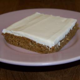 Pumpkin Spice Snack Cake Bars
