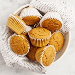 Pumpkin Spiced Corn Muffins