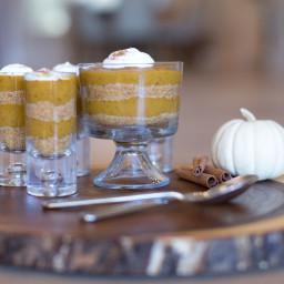 Pumpkin Trifle with Graham Cracker Crust