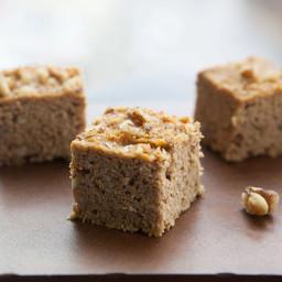 Pumpkin Walnut Protein Bars
