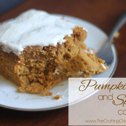 Pumpkin and Spice Cake