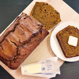 pumpkin molasses bread