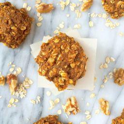 Pumpkin Oatmeal Breakfast Cookies {Gluten Free}