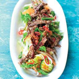 Punchy Crunchy Lamb Noodle Salad