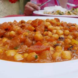 Punjabi-Style Chole Chickpea Curry Recipe