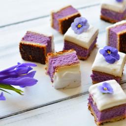 Purple Sweet Potato Haupia Pie (Gluten-Free, Paleo, Vegetarian)