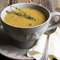 Quebec-Style Yellow Split Pea Soup