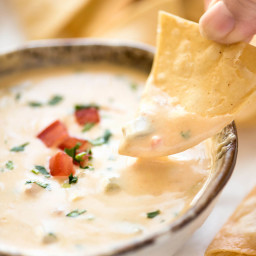 Queso Dip (Mexican Cheese Dip)
