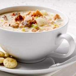 Quick Alaska Salmon Chowder Recipe