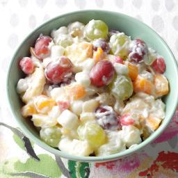 Quick Ambrosia Fruit Salad