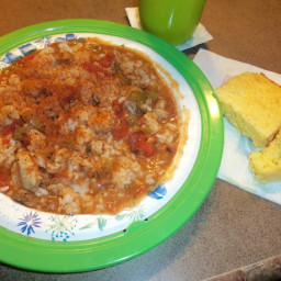 Quick and Easy Chicken-Sausage Gumbo