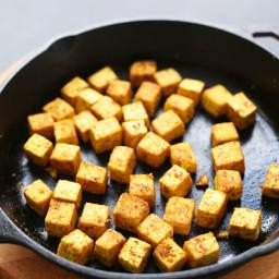Quick and Easy Crispy Tofu