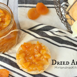 Quick and Easy Dried Apricot Jam