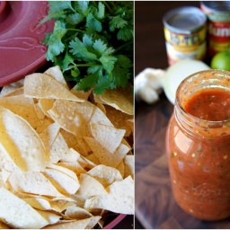Quick and Easy Mason Jar Salsa