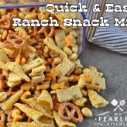 Quick and Easy Ranch Snack Mix