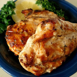 Quick and Low-Cal Grilled Bistro Chicken