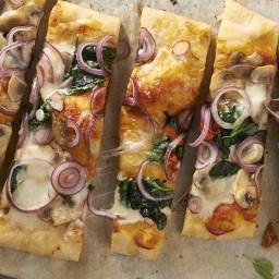 Quick Beer-Crust Pizza