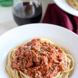 Quick Bolognese Sauce