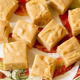 Quick Caramel Apple Fudge