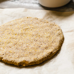 Quick Cornmeal Pizza Crust (Gluten-Free)