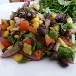 Quick & Easy Black Bean Corn Salad