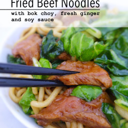 Quick Fried Beef Noodles