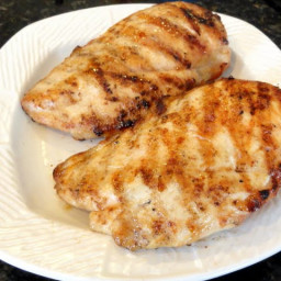 Quick Grilled Garlic Skinless Boneless Chicken Breasts With Some Bite