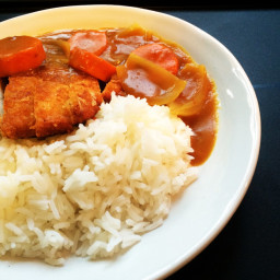 Quick Japanese Chicken Cutlet Curry