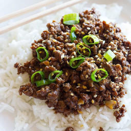 Quick Korean Beef and Rice Recipe • Unicorns in the kitchen