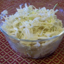 Quick Low Carb Cabbage Coleslaw