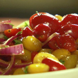 Quick-Marinated Cherry Tomato Salad