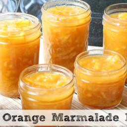 Quick Orange Marmalade Recipe