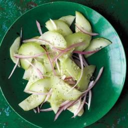 Quick Pickled Cucumber Salad
